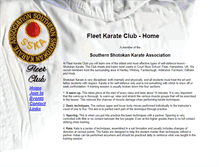 Tablet Preview of fleetkarate.co.uk
